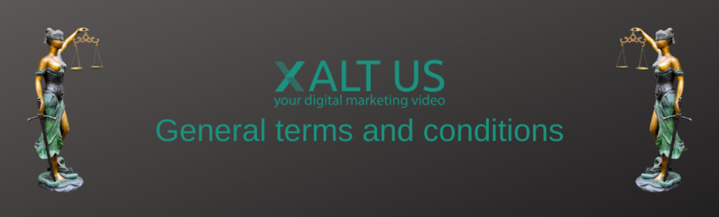 XALTUS - Andrea Steinbach - Digital Marketing Video - General terms and conditions