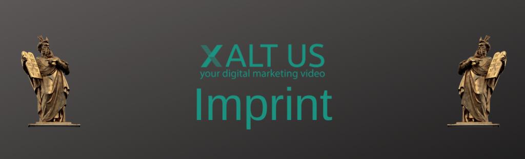 XALTUS - Andrea Steinbach - Digital Marketing Video - Imprint