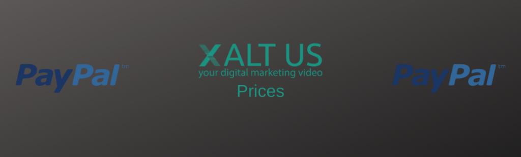 Marketing video production costs - XALTUS - Andrea Steinbach - Digital Marketing Video Production - Prices