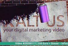Video Intro 📌 – Graffiti – Spray Logo – Art – 20200111
