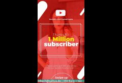 Youtube Channel Promotion 🚺 as Instagram Story - 2020020603