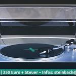 Video Intro 🎧 - vinyl record