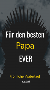 Happy Father's Day free video download - Fröhlichen Vatertag Game of Thrones Style Video Download