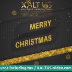 🤩🎄 XALTUS - #digital #Christmas #card offer 2020 - #golden christmas - #video 01202012240601s