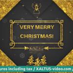 🤩🎄 XALTUS - #digital #Christmas #card offer 2020 - #golden christmas - #video 01202012240603s