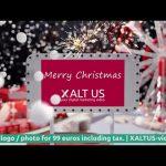 Digital Christmas Greeting Card